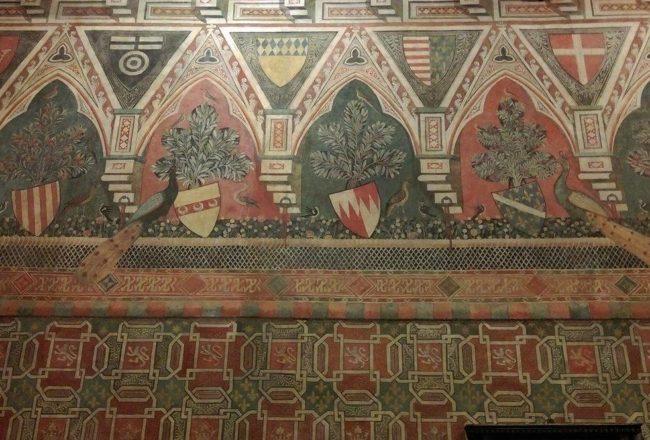 Dettagli delle pareti, Palazzo Davanzati