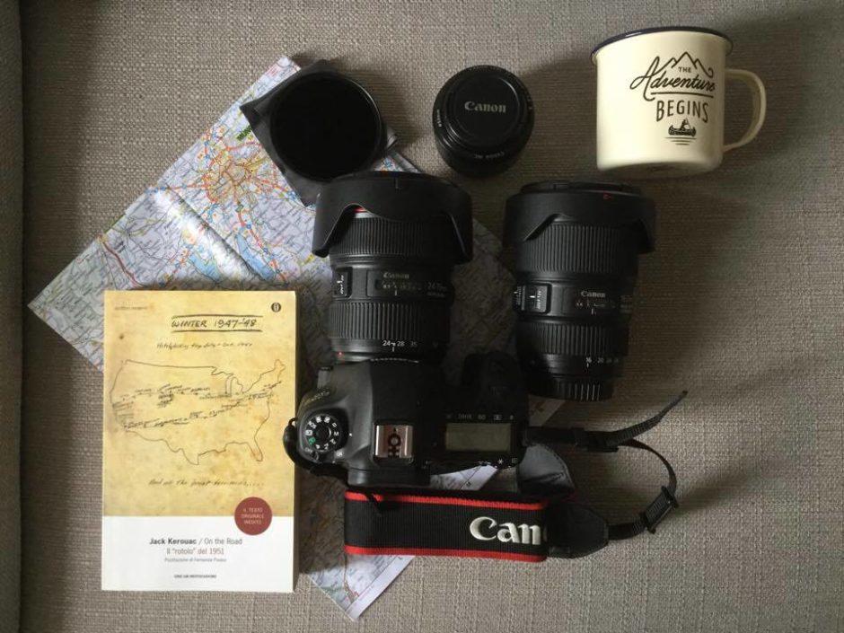La mia attrezzatura per la fotografia in viaggio