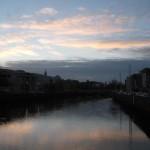 Tramonto a Dublino