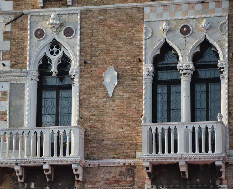 Finestre regali a Venezia
