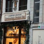 Una cioccolateria a Bruxelles