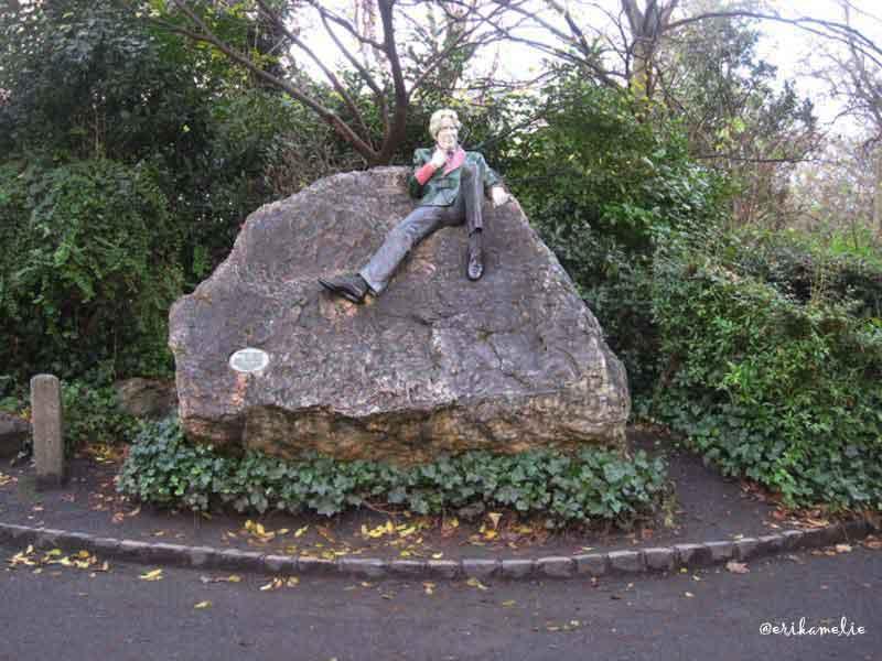 Oscar Wilde al Merrion Square