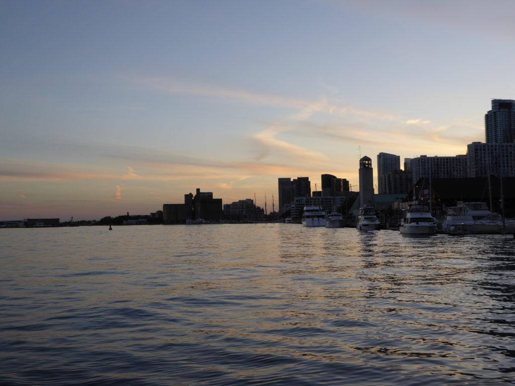 Toronto al tramonto