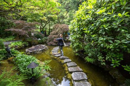 Butchers Gardens, giardini giapponesi di Victoria