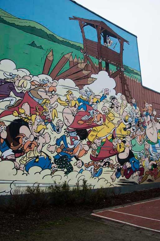 Asterix (Uderzo) Rue de la Buanderie 33