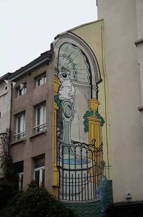 Cubitus (Dupa) Rue de Flandre 109