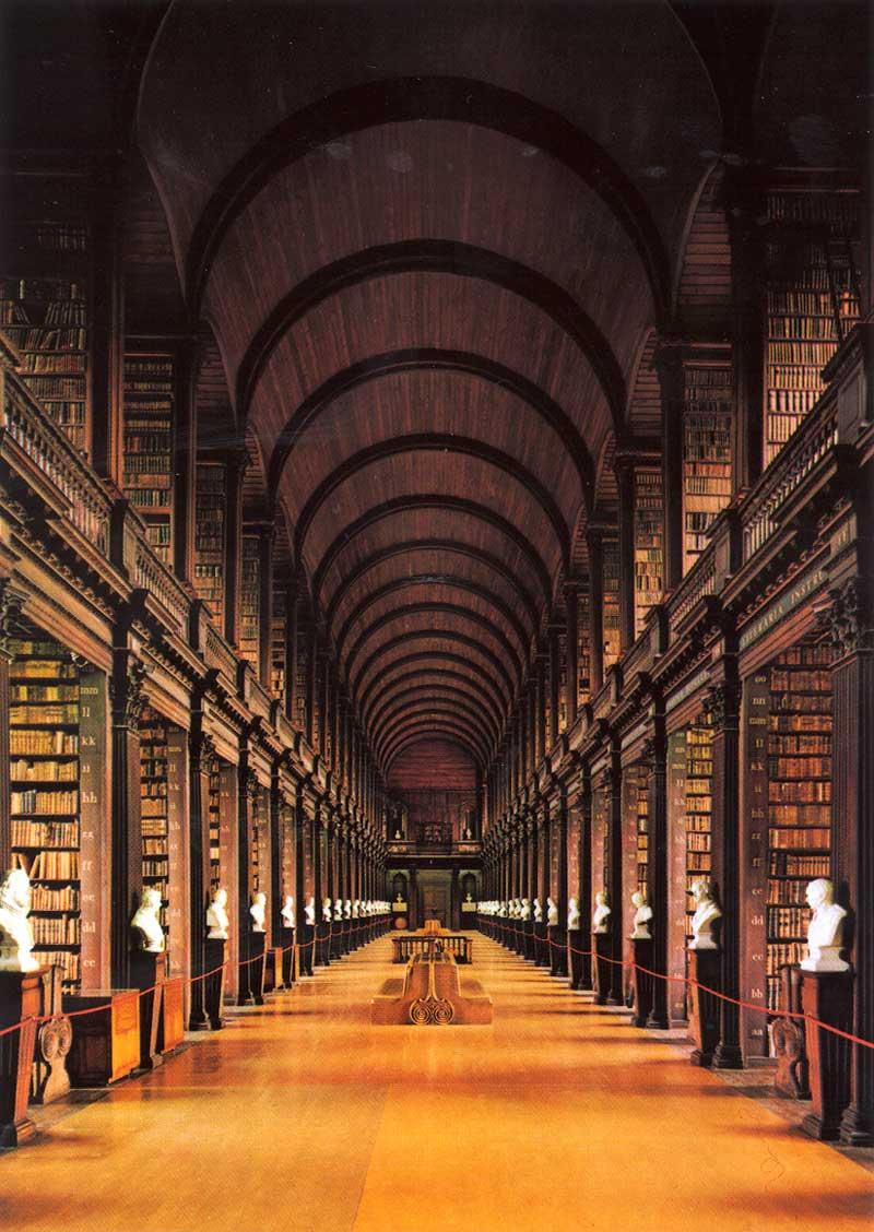 Long Room al Trinity College