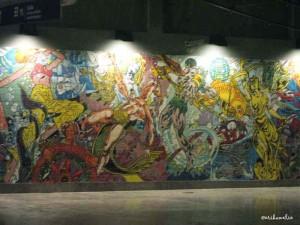 Arte nella metro di Lisbona
