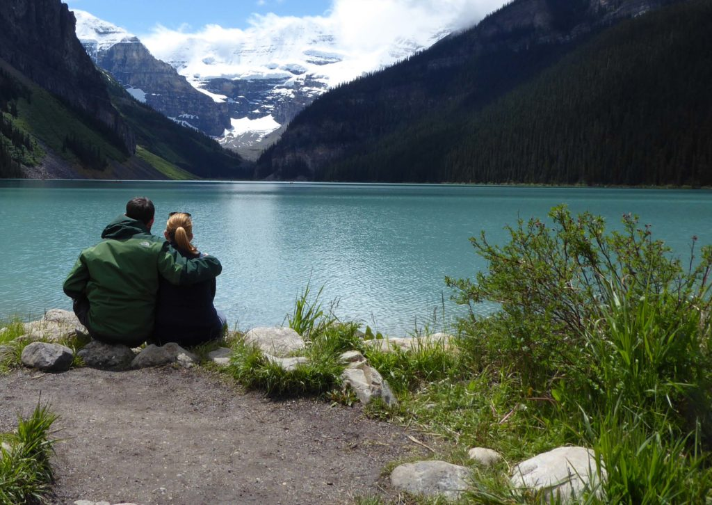noi a Lake Louise