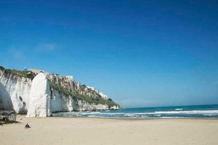 Una delle spiagge di Vieste